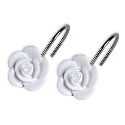 Keila Rose Shower Curtain Hooks (Set Of 12)