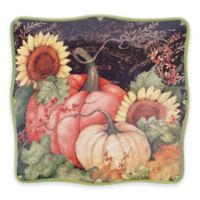 Certified International Botanical Harvest© by Susan Winget Square Platter