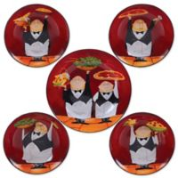 Certified International Waiters 5-Piece Pasta Bowl Set