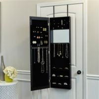 Designer Jewelry Armoire in Black
