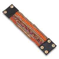 Rosie 6.75-Inch Activity Tracker Adjustable Snap Bracelet for Fitbit® Flex™ in Orange