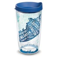 Tervis® 16-oz. Kentucky Typography Map Clear Tumbler
