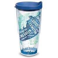 Tervis® 24-oz. Kentucky Typography Map Clear Tumbler