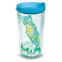 Tervis® 16-oz. Florida Typography Map Clear Tumbler