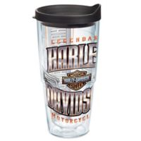 Tervis® Harley-Davidson Chrome Wings Logo 24 oz. Wrap Tumbler with Lid