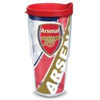 Tervis® English Premier League Arsenal F.C. 24 oz. Wrap Tumbler with Lid