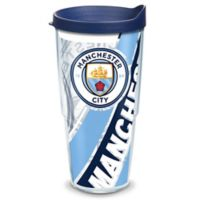 Tervis® English Premier League Manchester City F.C. 24 oz. Wrap Tumbler with Lid