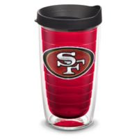 Tervis® NFL San Francisco 49ers Emblem 16 oz. Tumbler with Lid in Red