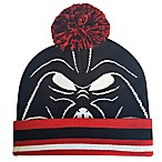Star Wars™ Darth Vader Big Face Pom Beanie in Black