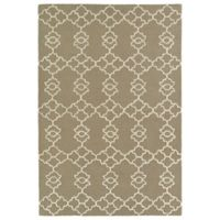 Kaleen Spaces Stockholm 2-Foot x 3-Foot Accent Rug in Light Brown