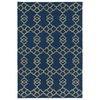 Kaleen Spaces Stockholm 2-Foot x 3-Foot Accent Rug in Blue