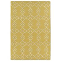 Kaleen Spaces Stockholm 5-Foot x 7-Foot Area Rug in Gold