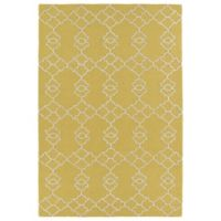 Kaleen Spaces Stockholm 8-Foot x 10-Foot Area Rug in Gold