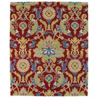 Kaleen Taj Abadan 8-Foot x 11-Foot Area Rug in Red
