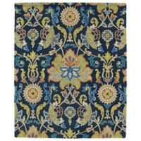 Kaleen Taj Abadan 8-Foot x 11-Foot Area Rug in Navy
