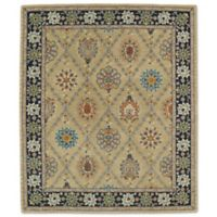 Kaleen Taj Panel Lattice 5-Foot x 7-Foot 9-Inch Area Rug in Gold