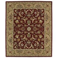 Kaleen Taj Birjand 8-Foot x 11-Foot Area Rug in Red