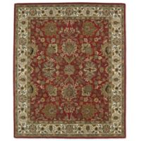 Kaleen Taj Kashan 7-Foot 6-Inch x 9-Foot Wool Rug in Red