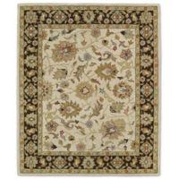 Kaleen Taj Zahedan 7-Foot 6-Inch x 9-Foot Wool Rug in Beige