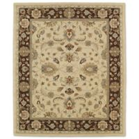 Kaleen Taj Amol 5-Foot x 7-Foot 9-Inch Wool Rug in Gold