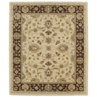 Kaleen Taj Amol 8-Foot x 11-Foot Wool Rug in Gold