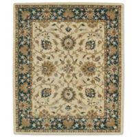 Kaleen Taj Khoy 5-Foot x 7-Foot 9-Inch Wool Rug in Gold