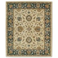 Kaleen Taj Khoy 7-Foot 6-Inch x 9-Foot Wool Rug in Gold