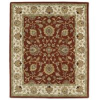 Kaleen Taj Khoy 8-Foot x 11-Foot Wool Rug in Rust