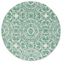 Kaleen Tara Delphi 3-Foot 90Inch Round Area Rug in Mint