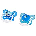 Dr. Brown S 2 Pack Dr.brown Prevent Butterfly 2pk Paci Blue Stg1 0-6m Blue