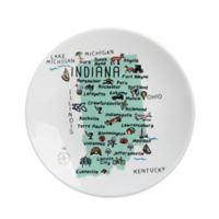 My Place Indiana Appetizer Plates (Set of 4)