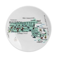 My Place Massachusetts Appetizer Plates (Set of 4)