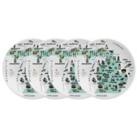 My Place New York City Appetizer Plates (Set of 4)
