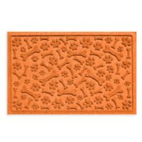 Weather Guard™ Paws & Bones 24-Inch x 36-Inch Entry Mat in Orange