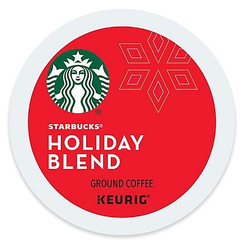 Keurig 174 K Cup 174 Pack 16 Count Starbucks 174 Holiday Blend