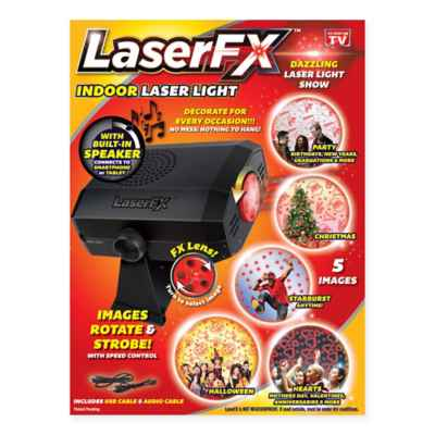Laser FX Indoor Laser Light