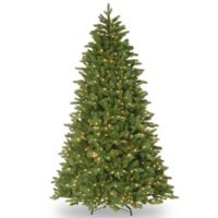 National Tree Company 7.5-Foot Ridgewood Spruce Pre-Lit Christmas Tree with Clear Lights