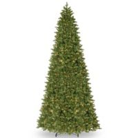 National Tree Company 14-Foot Ridgewood Spruce Pre-Lit Christmas Tree with Clear Lights