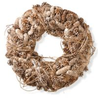 National Tree Company 22-Inch Pine Cone Wreath