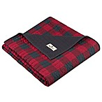 Woolrich Check Quilted Throw in Red