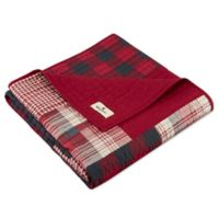 Woolrich Sunset Quilted Throw in Red