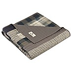 Woolrich Winter Hills Quilted Throw in Tan
