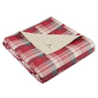 Woolrich Tasha Quilted Throw in Red