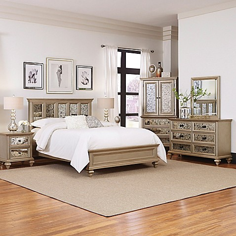 buy home styles visions 5 piece queen bedroom set in