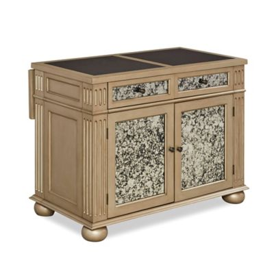 the orleans kitchen island with marble top buy home styles the orleans kitchen island with marble top 9795