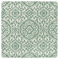 Kaleen Tara 45-Inch Square Mumbai Area Rug in Mint