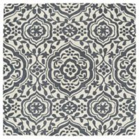 Kaleen Tara 45-Inch Square Mumbai Accent Rug in Grey