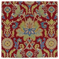 Kaleen Tara Taj 5-Foot 9-Inch Square Area Rug in Red
