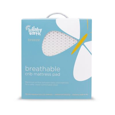 breeze breathable waterproof crib mattress cover in white - Air Mattress Bed Bath And Beyond