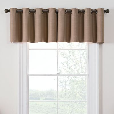 rod treatments valances and panel waterfall crushed pocket valance window bridget silver satin